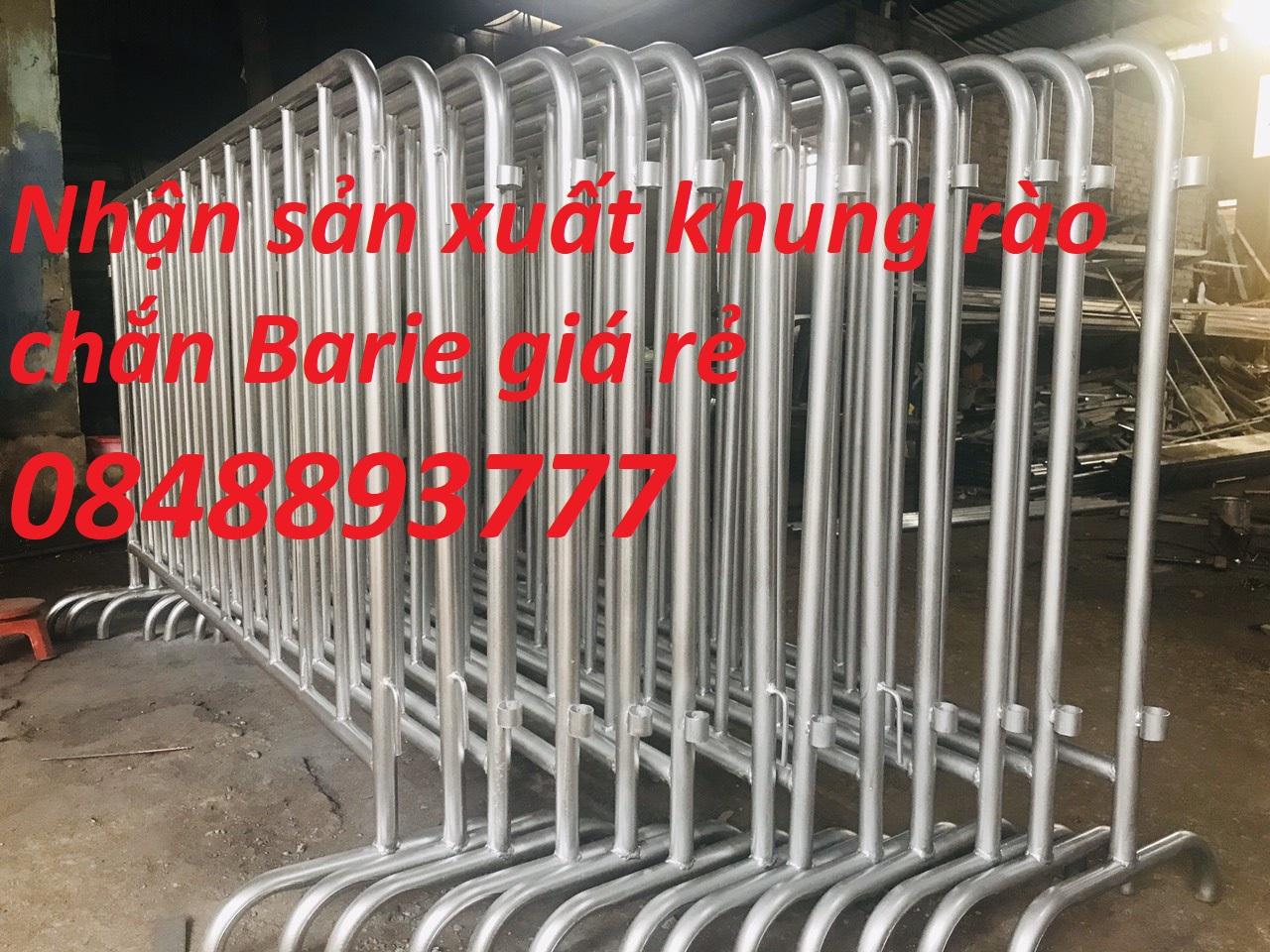 Khung hàng rào cách ly kích thước 1m2x2m